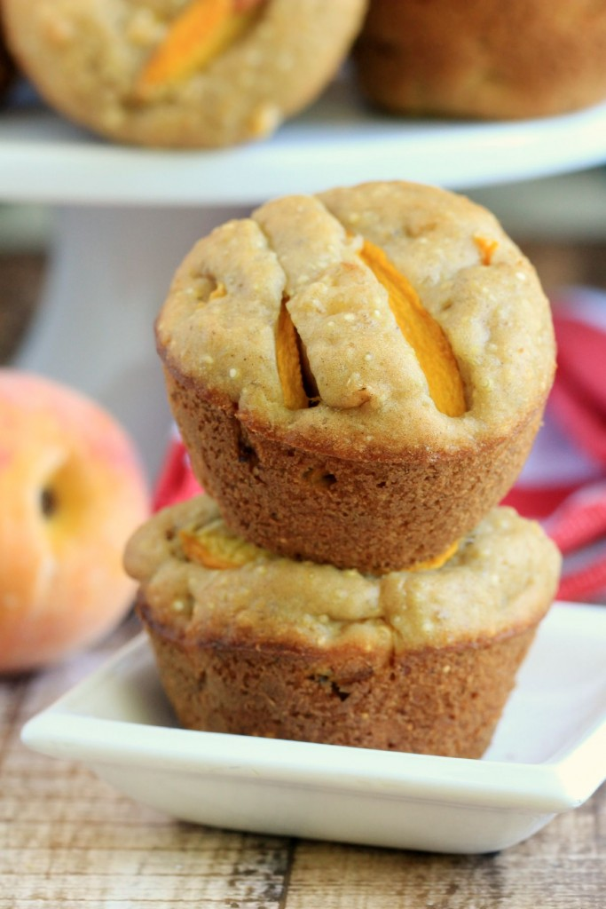 browned-butter-peach-muffins
