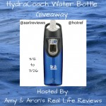 HydraCoach Water Bottle Giveaway