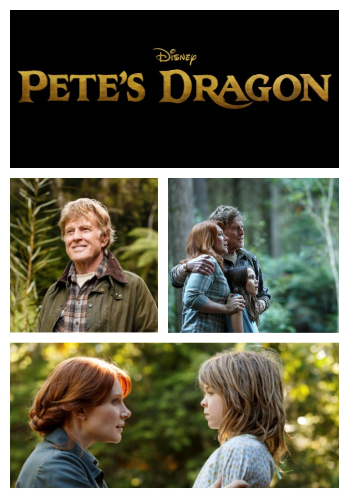 Pete's Dragon Movie Trailer and Images