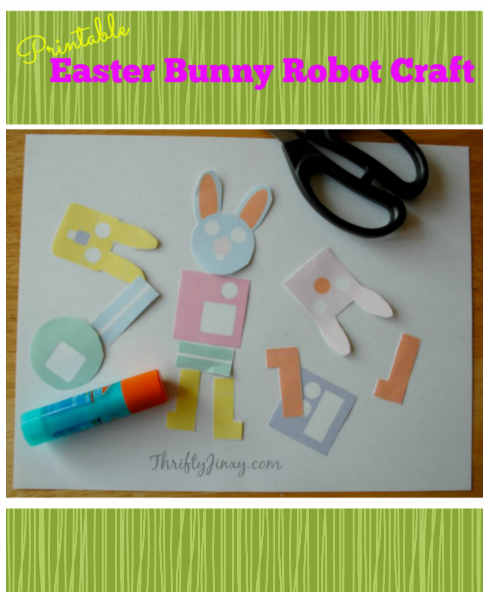 Printable-Easter-Bunny-Robot-Craft