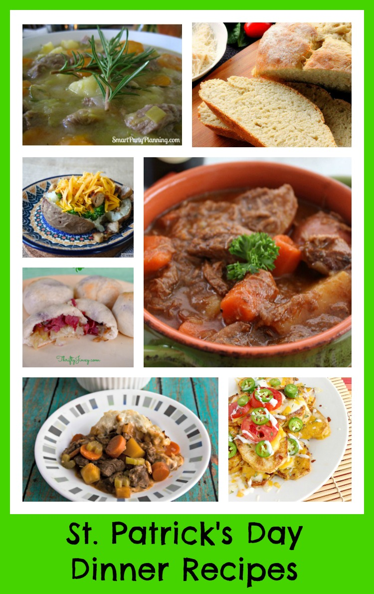 St Patricks Day Dinner Recipes