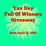 Tax Day Full of Winners Giveaway