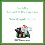 BuddhiBox Yoga Subscription Box Giveaway
