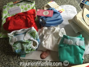 Cloth Diaper Newborn Stash Giveaway