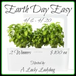 Earth Day Easy Giveaway
