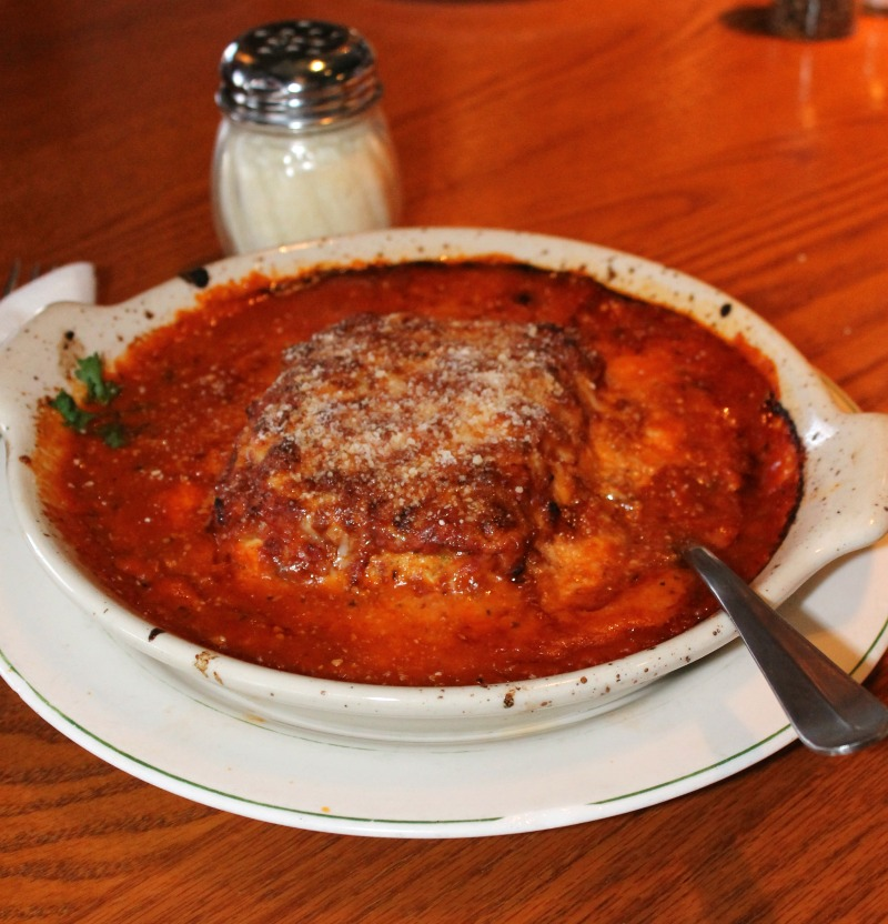 Baked Cheese Lasagna at Buddys Pizza