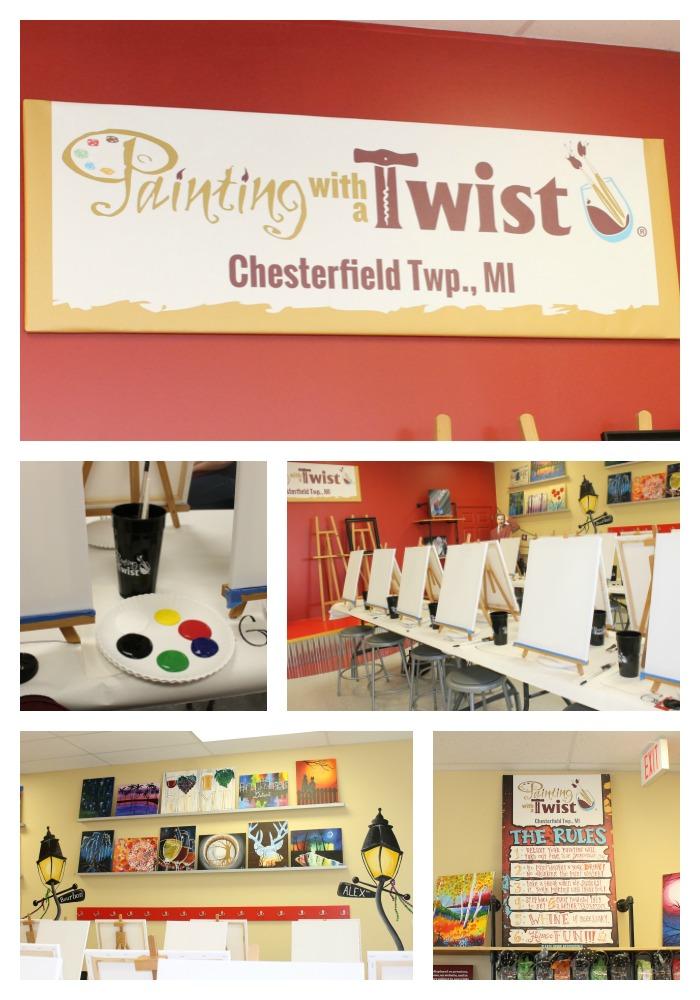 Painting With A Twist In Chesterfield Finding Sanity In Our Crazy Life