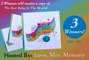 The Best Baby In The World Giveaway