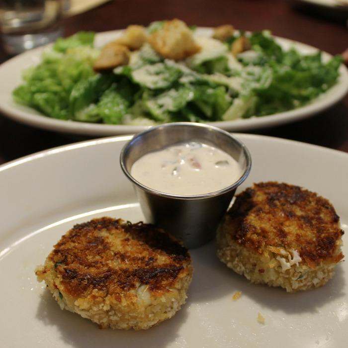 Crab Cakes at Zingerman's Roadhouse
