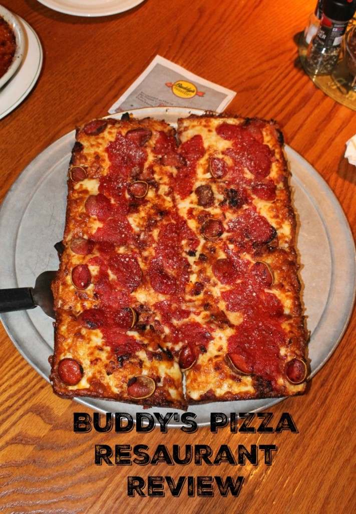 Michigan dining review of buddys pizza
