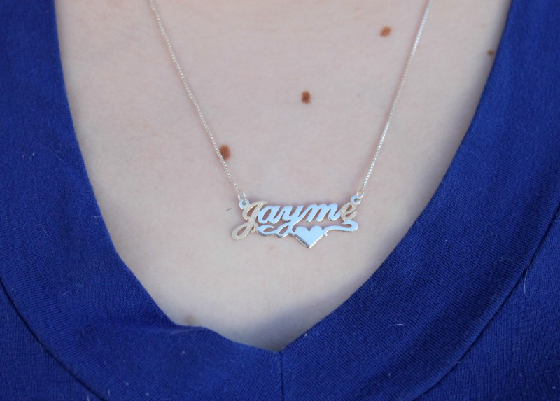 Personalized Jewelry Name Necklace