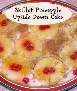 Skillet Pineapple Upside Down Cake