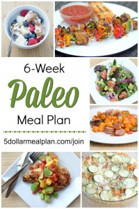 6 Week Paleo Meal Plan