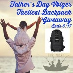 Father's Day Vbiger Tactical Backpack Giveaway Ends 6/17