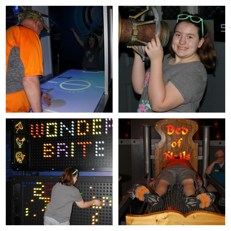 Fun at WonderWorks Pigeon Forge