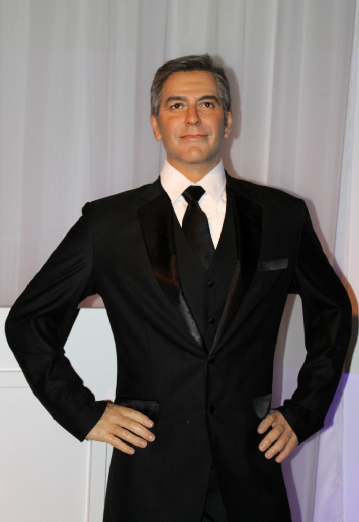 George Clooney Hollywood Wax Museum Pigeon Forge