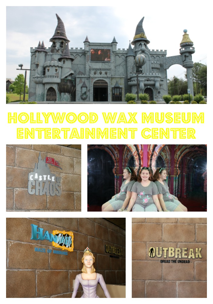 Hollywood Wax Museum Pigeon Forge Entertainment Center
