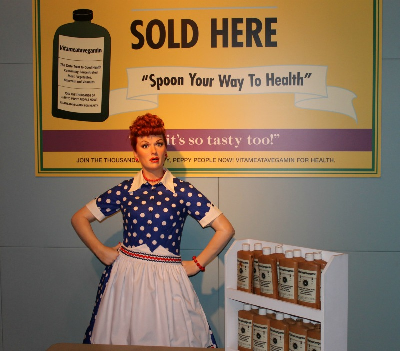 I Love Lucy Hollywood Wax Museum Pigeon Forge