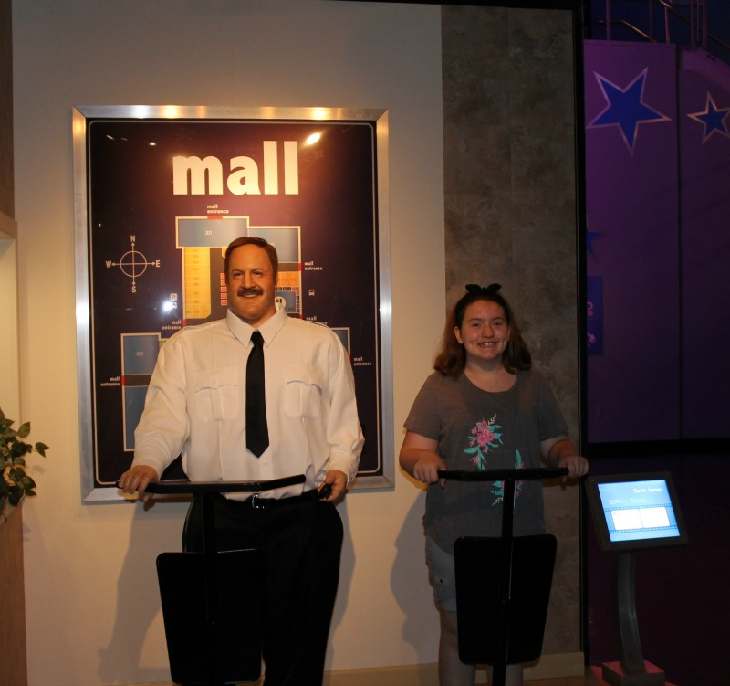 Paul Blart Mall Cop Hollywood Wax Museum Pigeon Forge