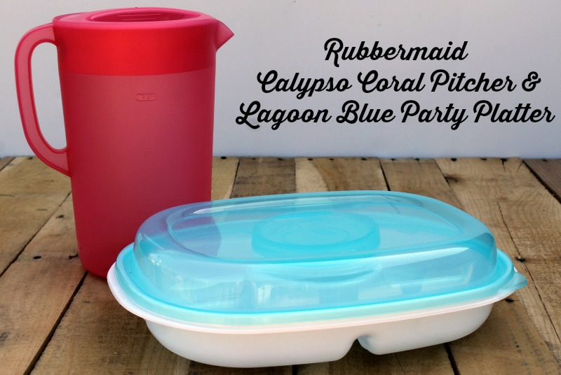 Rubbermaid Pitcher and Party Platter