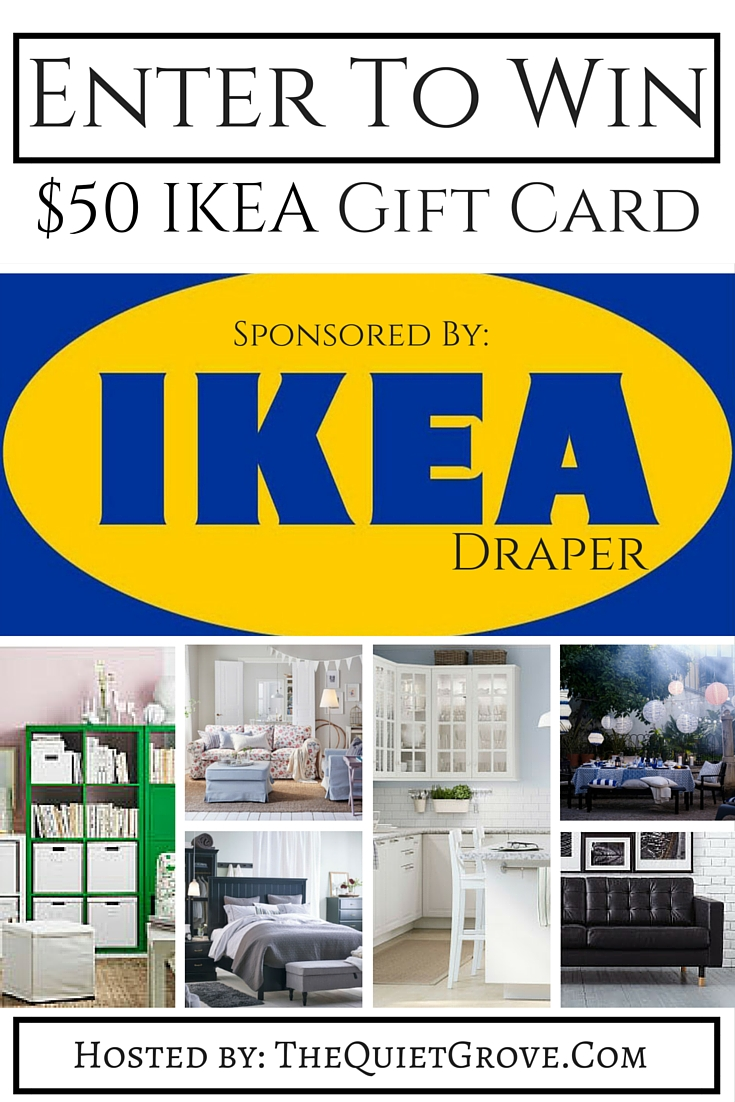 50 ikea gift card giveaway ends 6 25 finding sanity in our crazy life. Black Bedroom Furniture Sets. Home Design Ideas