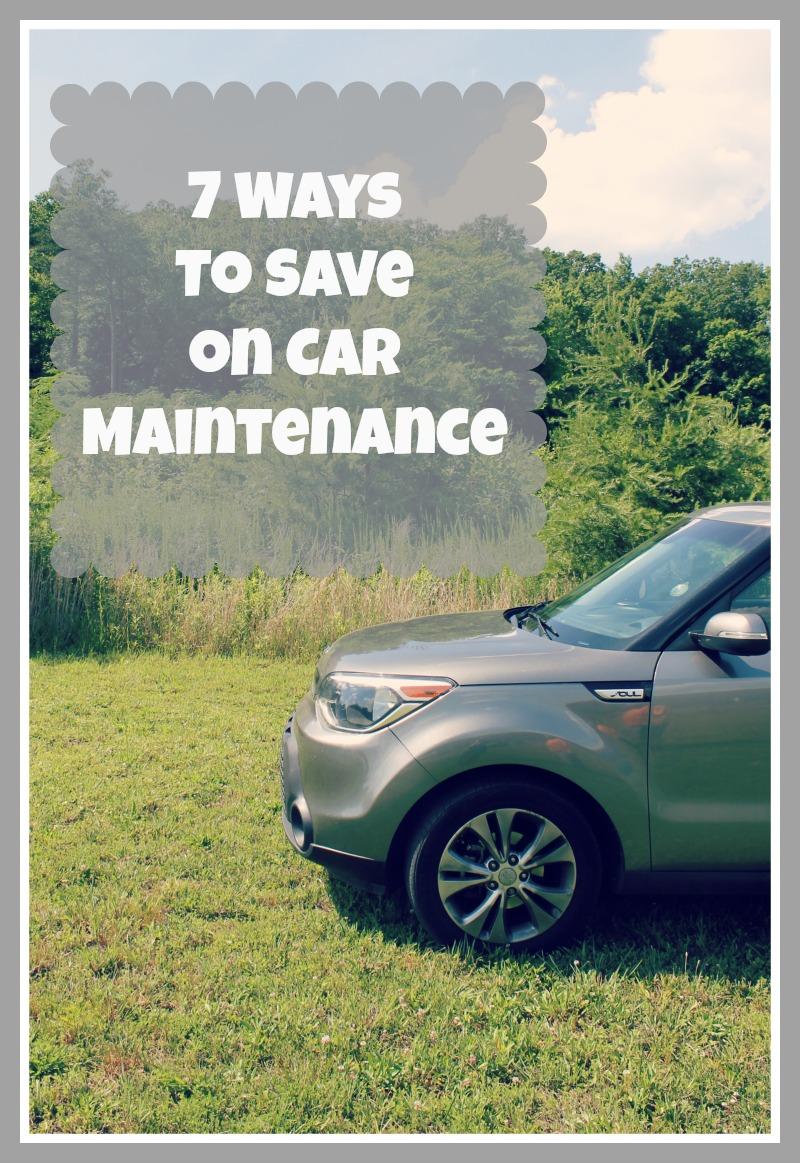 7 ways to save on car maintenance