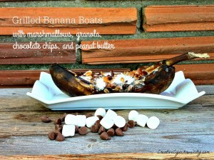 Grilled Banana Boats – 12 Days of BBQ Ideas