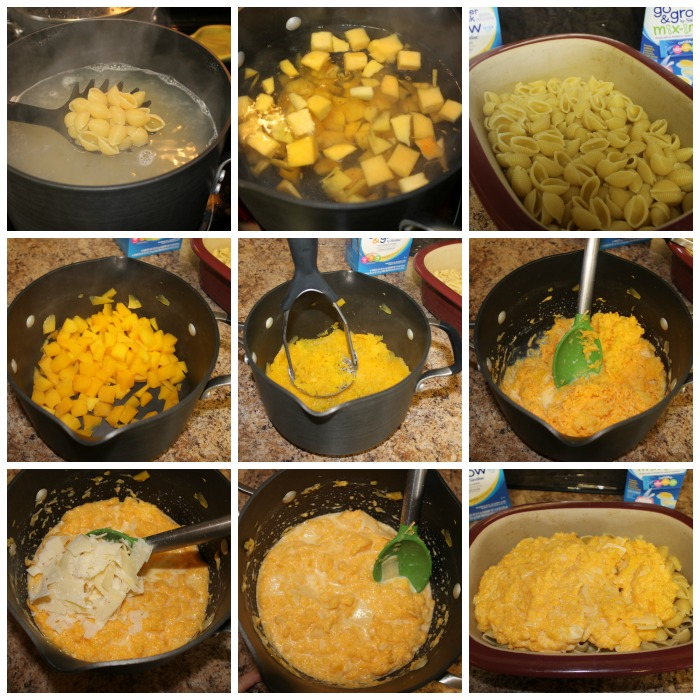 Butternut Squash Macaroni and Cheese Picture Directions