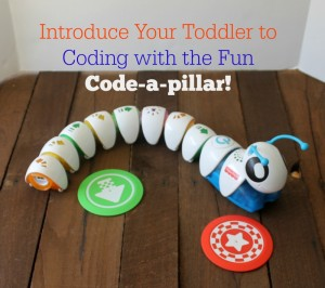 Coding For Toddlers With the Interactive Code-a-pillar
