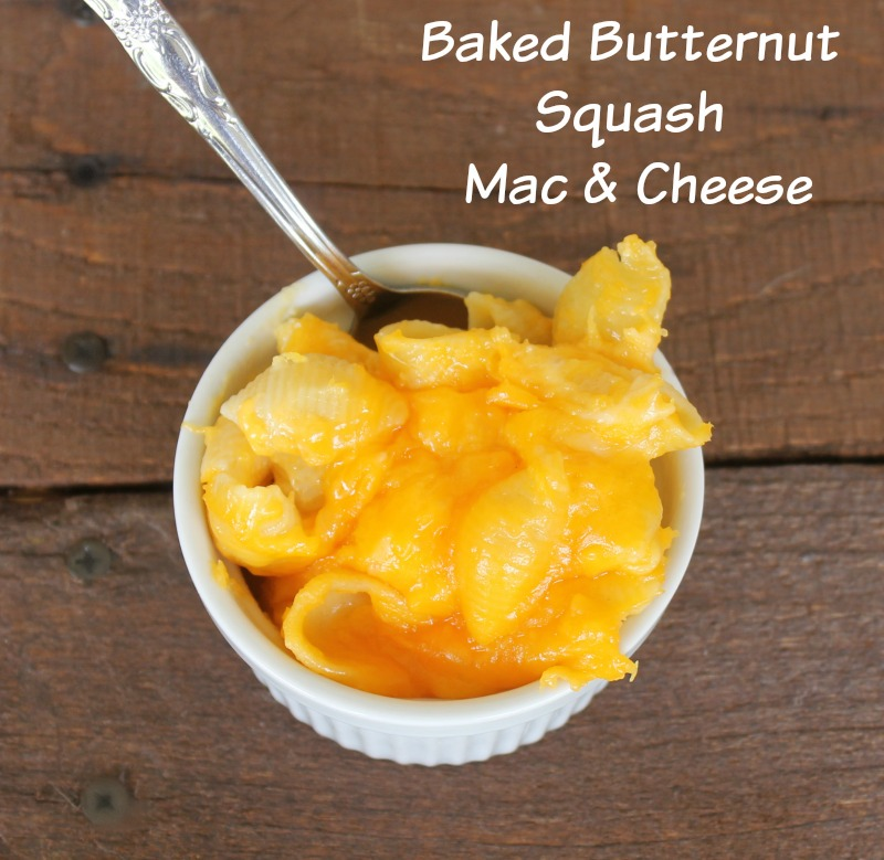 Delicious Butternut Squash Macaroni and Cheese