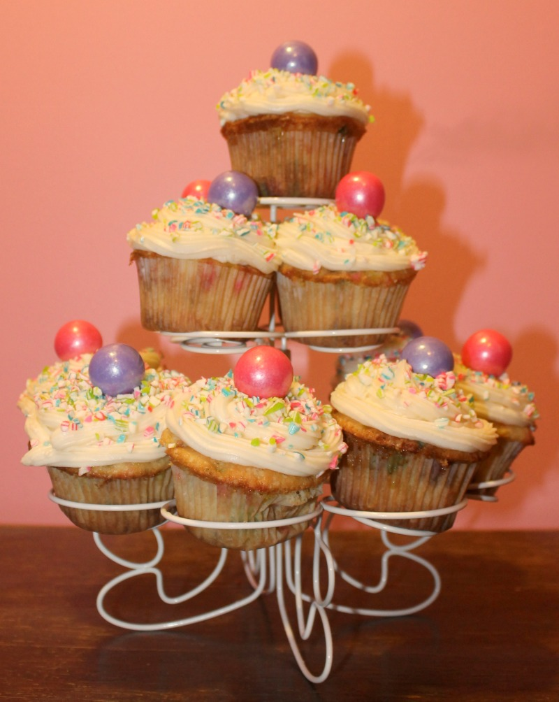 Funfetti Cupcakes with Cream Cheese Icing