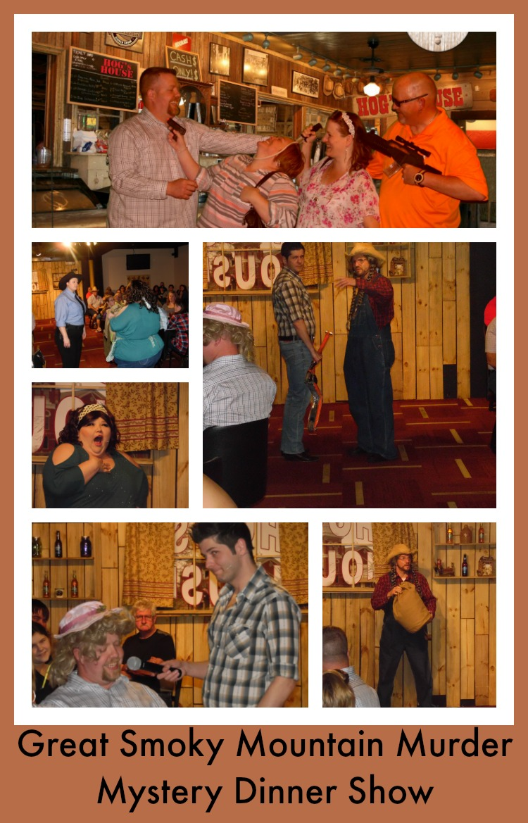 Great Smoky Mountain Murder Mystery Show