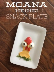Disney's Moana HeiHei Snack Plate Recipe – 12 Days of Back to School Lunches