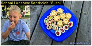 Sandwich Sushi  – 12 Days of Back to School Lunches