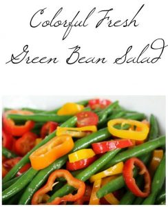Fresh Green Bean Salad – 12 Days of School Lunch Ideas