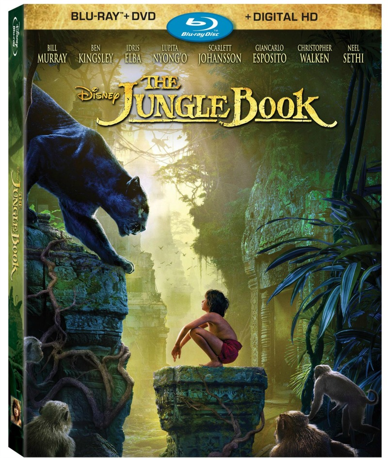 Disney The Jungle Book BluRay