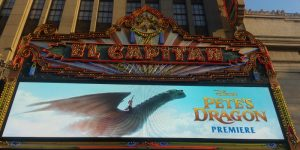 My First Movie Premiere During the #PetesDragonEvent