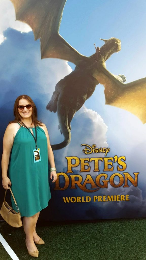 Personal petes dragon movie premiere picture
