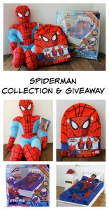 Spider-Man Collection and Giveaway #JFSHome – Ends 9/21
