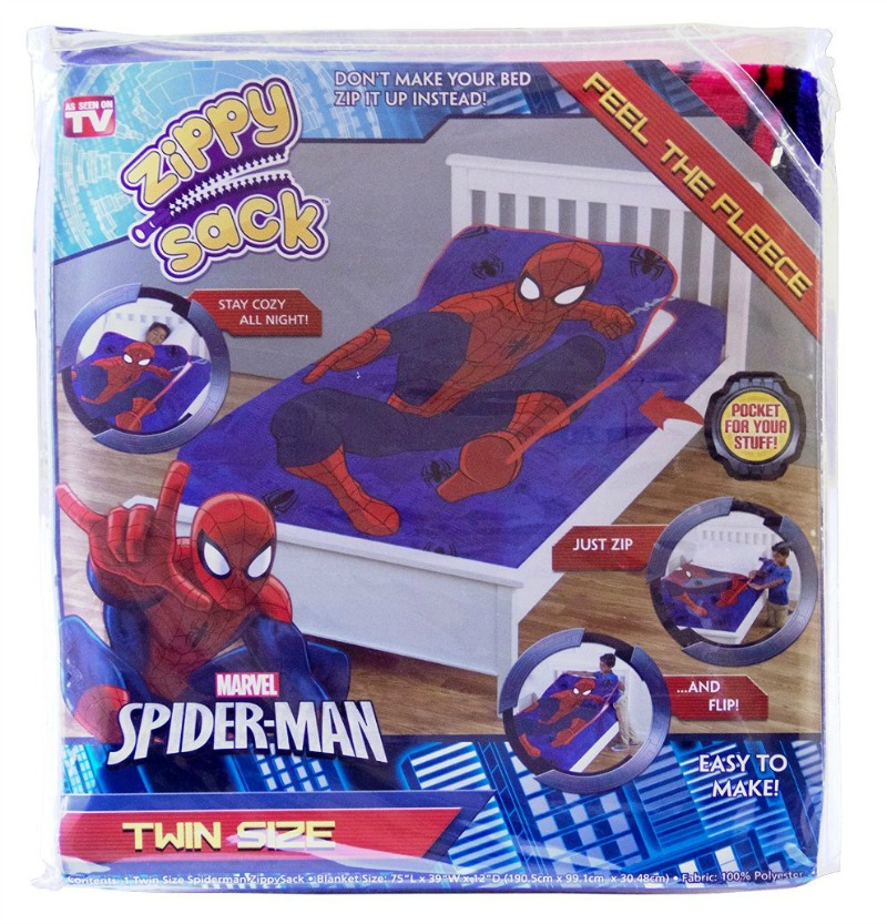Spider-man Zippy Sack Spider-Man Collection
