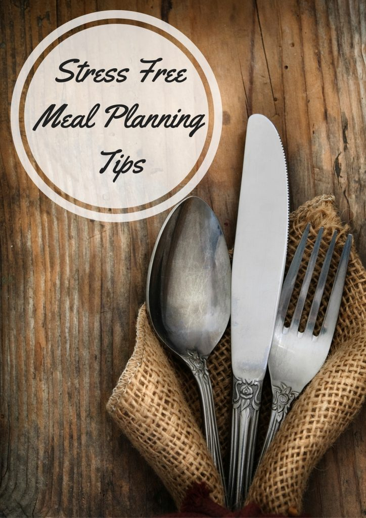 Stress Free Meal Planning