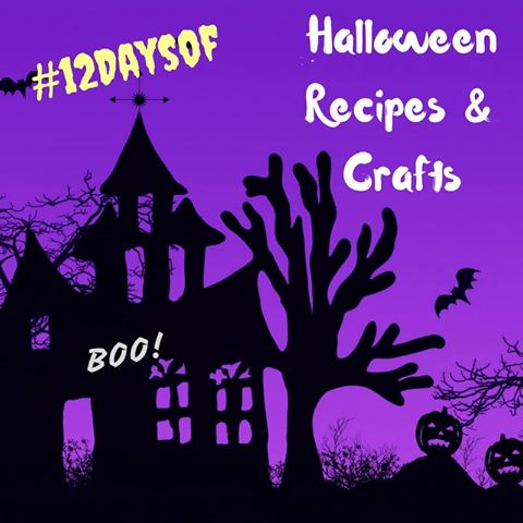 12 Days of Halloween Crafts and Recipes
