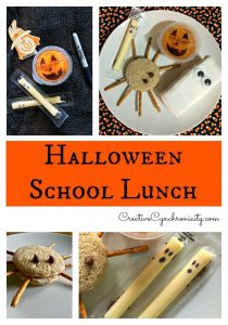 Halloween Lunch Ideas #12DaysofHalloween