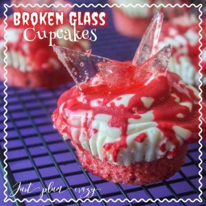 Broken Glass Cupcakes – 12 Days of Halloween