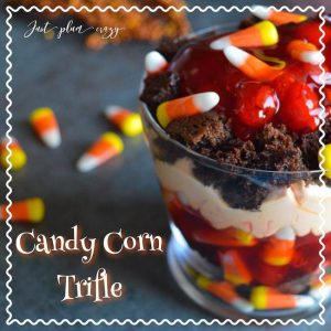 Candy Corn Trifle Recipe  -12 Days of Halloween