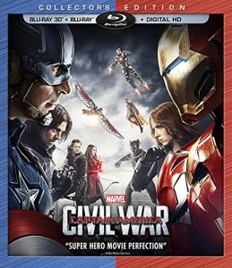 Marvel's Captain America: Civil War on Blu-Ray & Digital HD