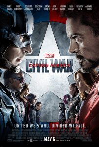 Captain America : Civil War DVD Giveaway #MovieMadnessHop