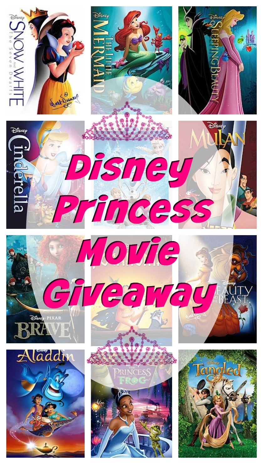 Disney Princess Movie Collection Giveaway # ...