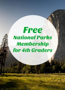 Free National Parks Membership for 4th Graders