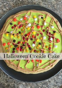 Halloween Cookie Cake – 12 Days of Halloween